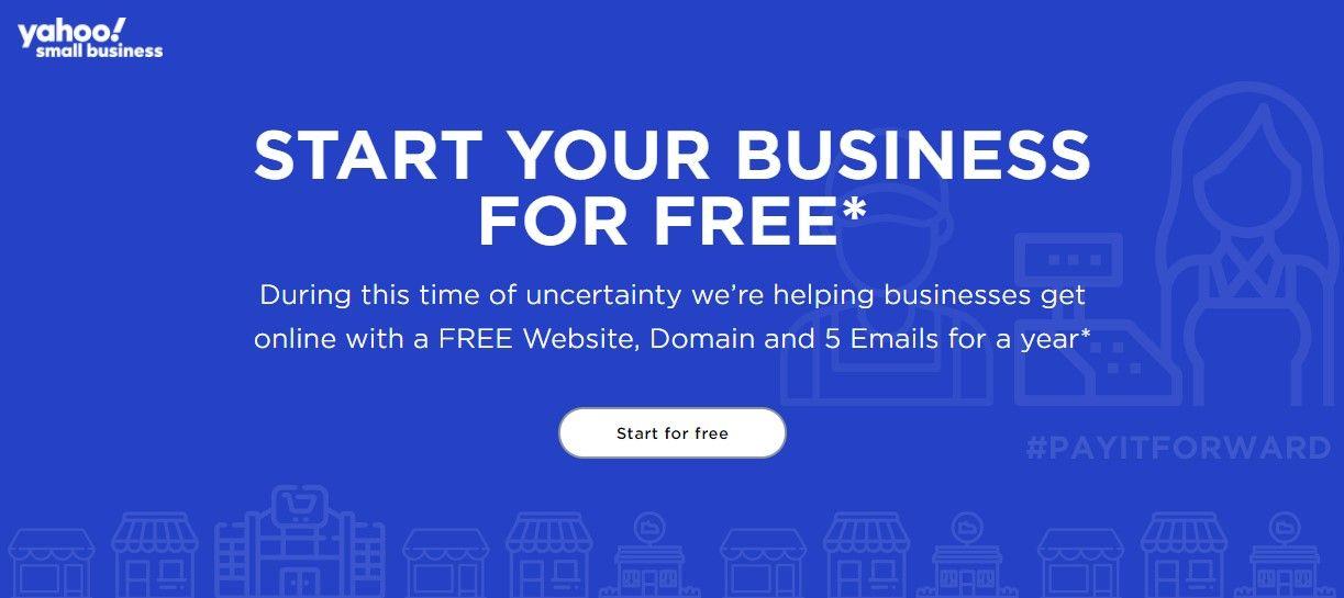 Yahoo cấp miễn phí tên miền .COM, .NET, .ORG - [month]/[year] 1