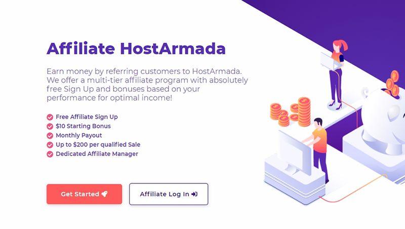 Hướng dẫn Affiliate HostArmada